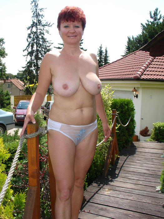50 plus amateur wife spreads bold pussy - 2 9