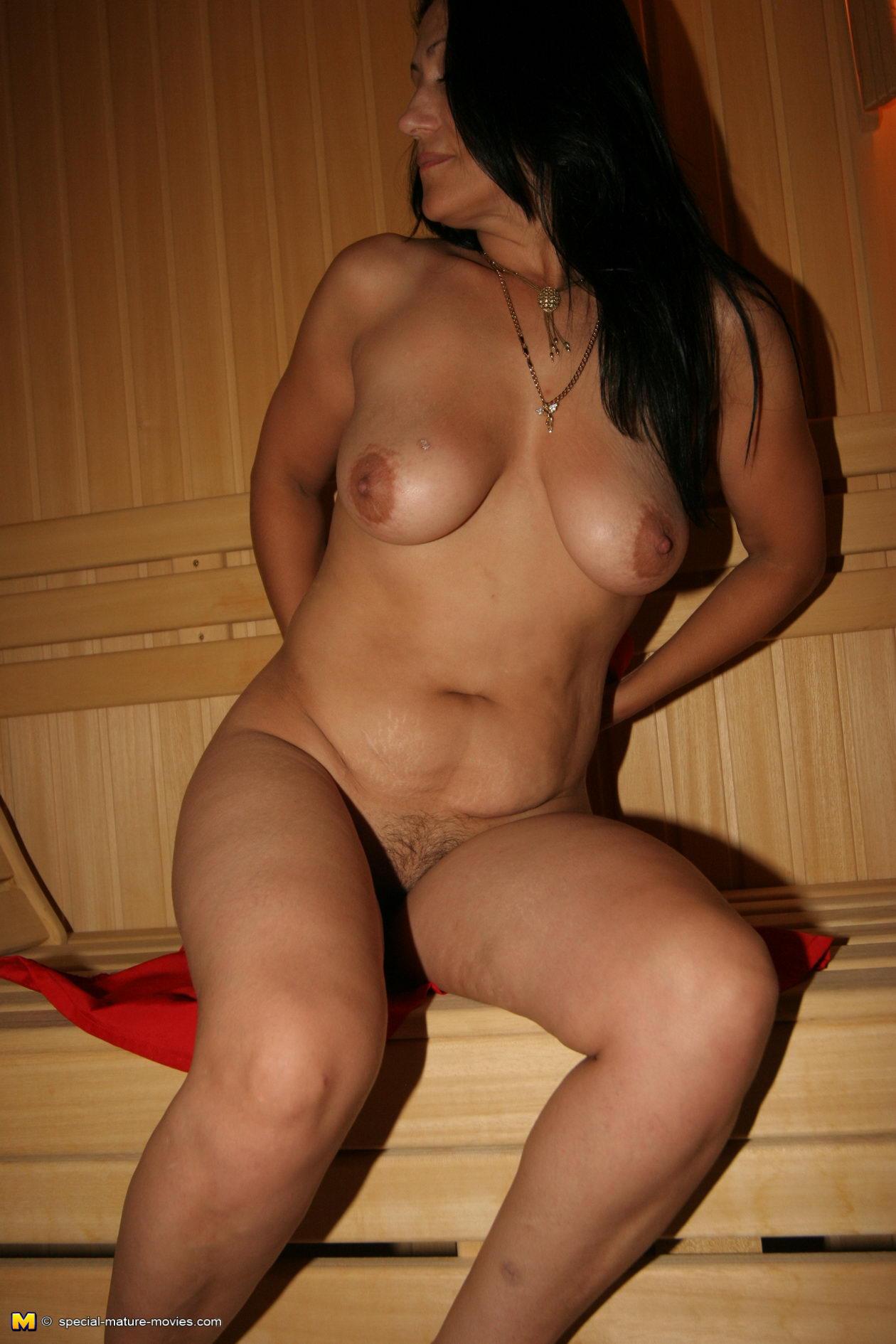 Mature Sauna