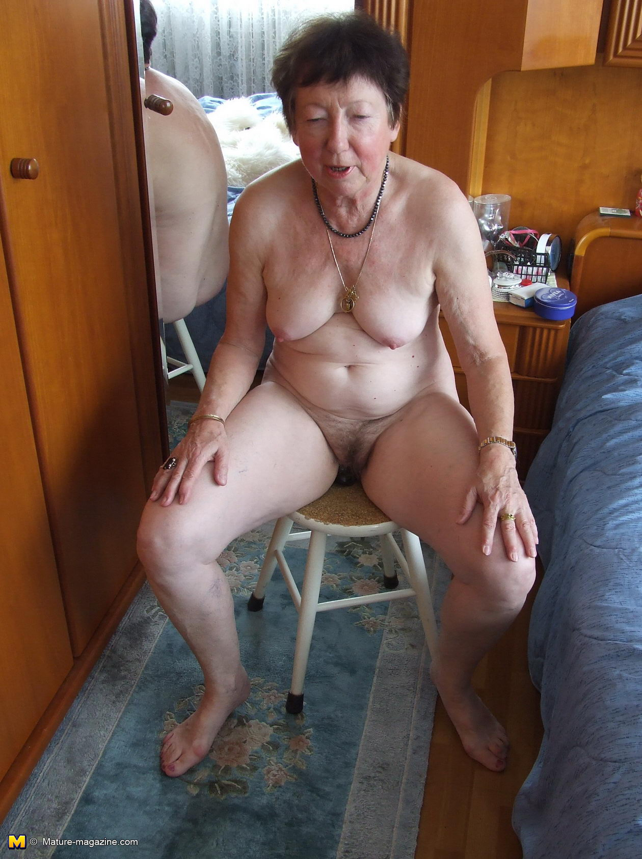 Barbara stories completely naked