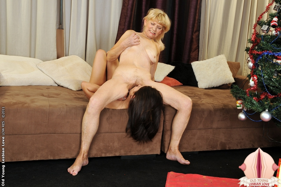 Older and younger lesbians in love - 1 part 3